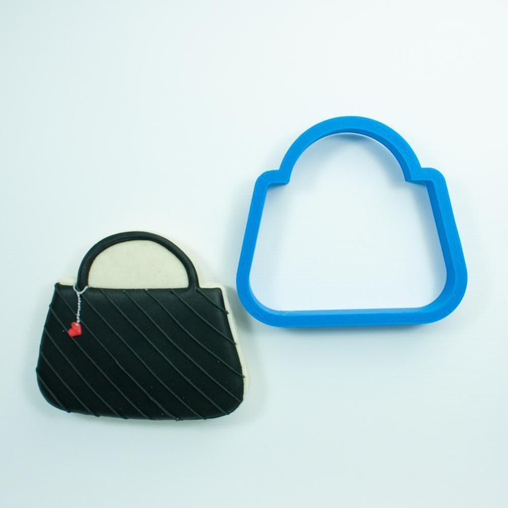 Frosted Cookie Cutter Purse Cookie Cutter