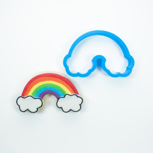 Frosted Cookie Cutter Rainbow Cookie Cutter