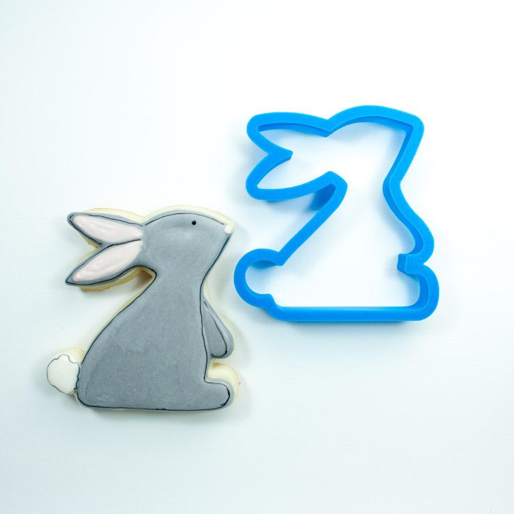 Frosted Cookie Cutter Sweet Bunny Cookie Cutter