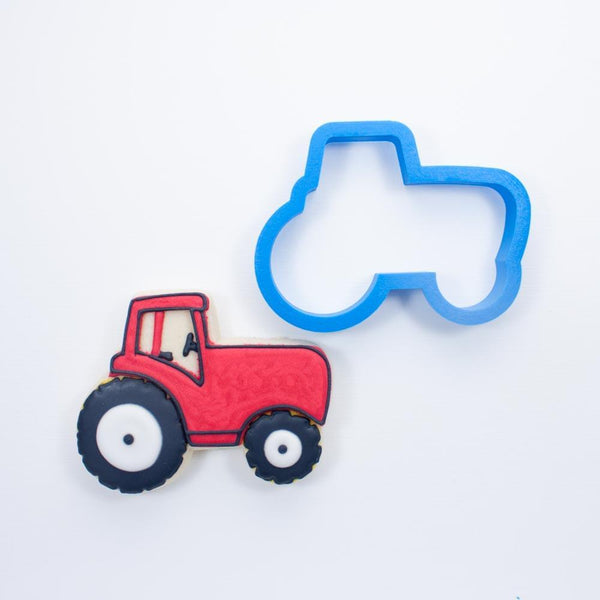 Frosted Cookie Cutter Tractor Cookie Cutter