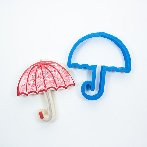 Frosted Cookie Cutter Umbrella Cookie Cutter