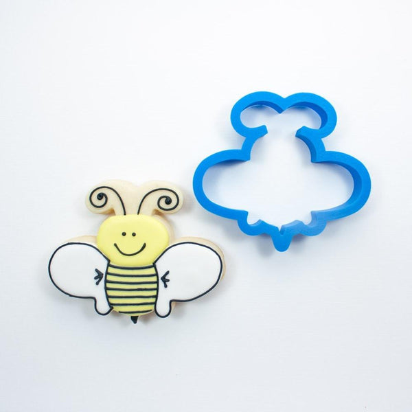 Frosted Cookie Cutter Whimsy Bumble Bee Cookie Cutter