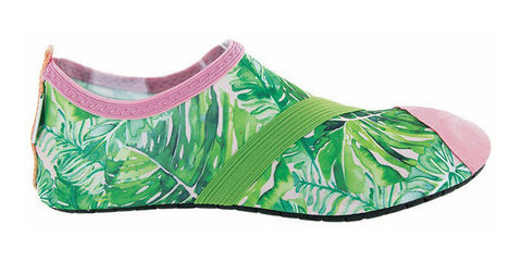 coco palm special edition fitkicks shoes, green and pink