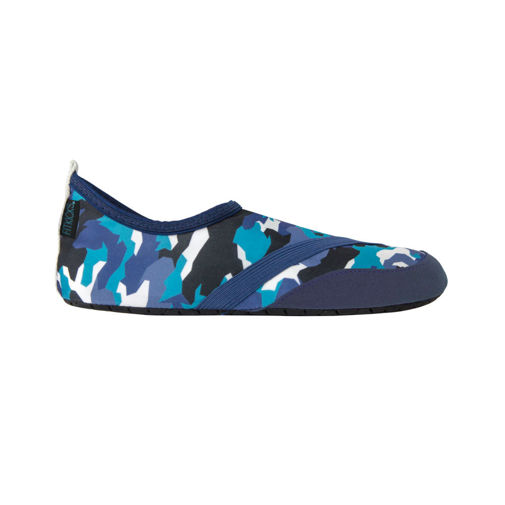 mens fitkicks in blue camo, special edition, battle royal