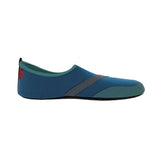 Fit Kicks Shoes in Navy Mens