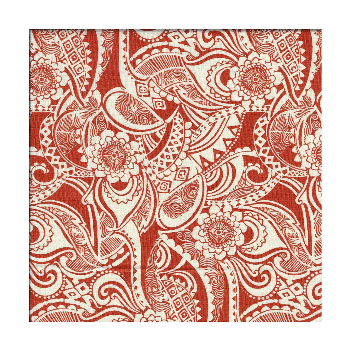 bandana, orange tribal print, exclusive, unique to bazooka bandanas