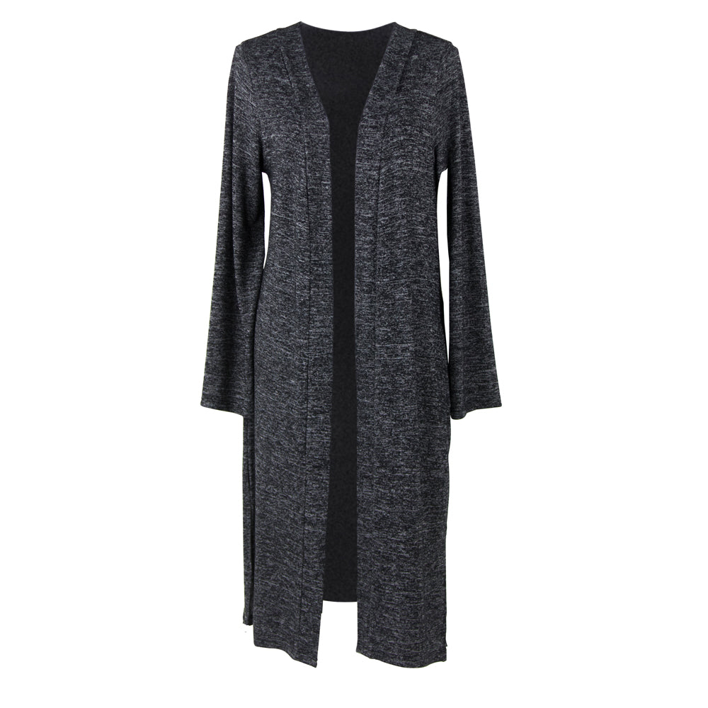 Carefree Threads Long Cardigan, Black