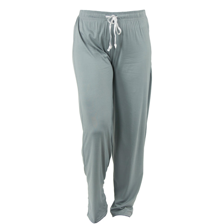 lounge pants, solid gray, grey, morning fog, total bliss by hello mello