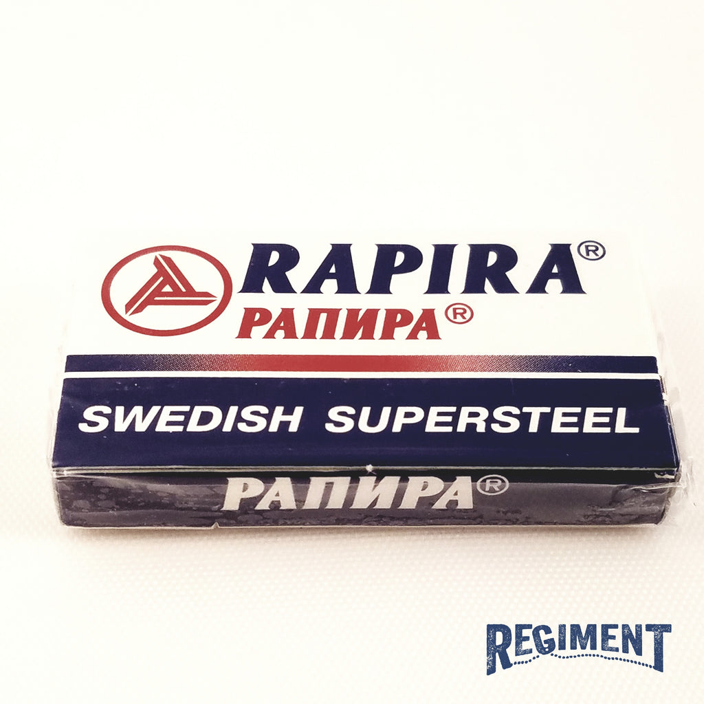 Rapira Swedish Supersteel Razor Blade 5 Pack