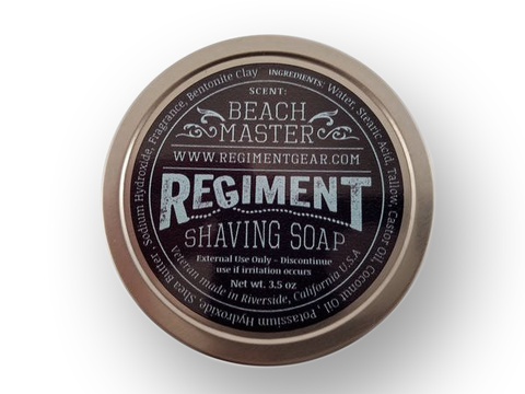 Beach Master 3.5 oz Shaving Soap