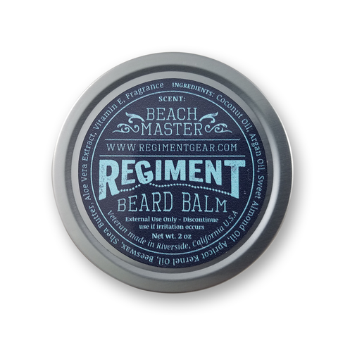 Beach Master 2 Oz Beard Balm