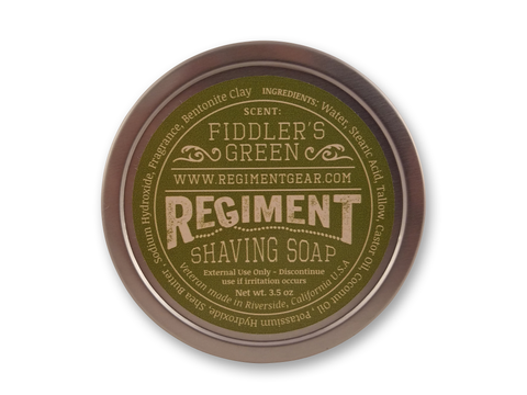 Fiddler's Green 3.5 Oz Shaving Soap