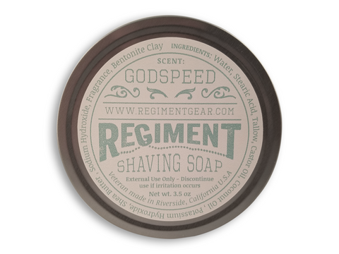 Godspeed 3.5 Oz Shaving Soap
