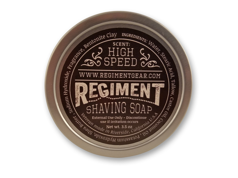 High Speed 3.5 Oz Shaving Soap