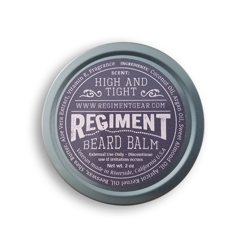 High and Tight 2 Oz Beard Balm
