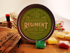 Charm's Lime 3.5 Oz Shaving Soap