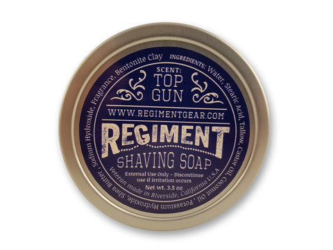 Top Gun 3.5 Oz Shaving Soap
