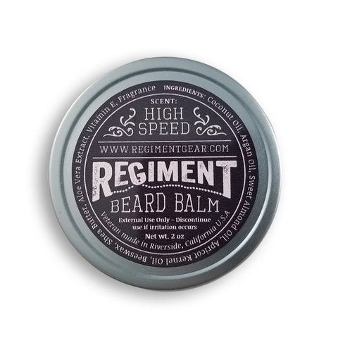 High Speed 2 Oz Beard Balm