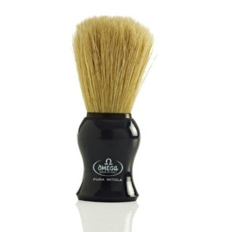 Omega Boar Brush Black OMG-10065BLK