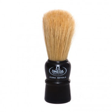 Omega Boar Travel Brush (Black)