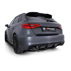 AUDI RS3 8V REMUS EXHAUST SYSTEM