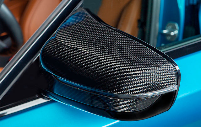 BMW M5 F90 RKP CARBON MIRROR CAP SET