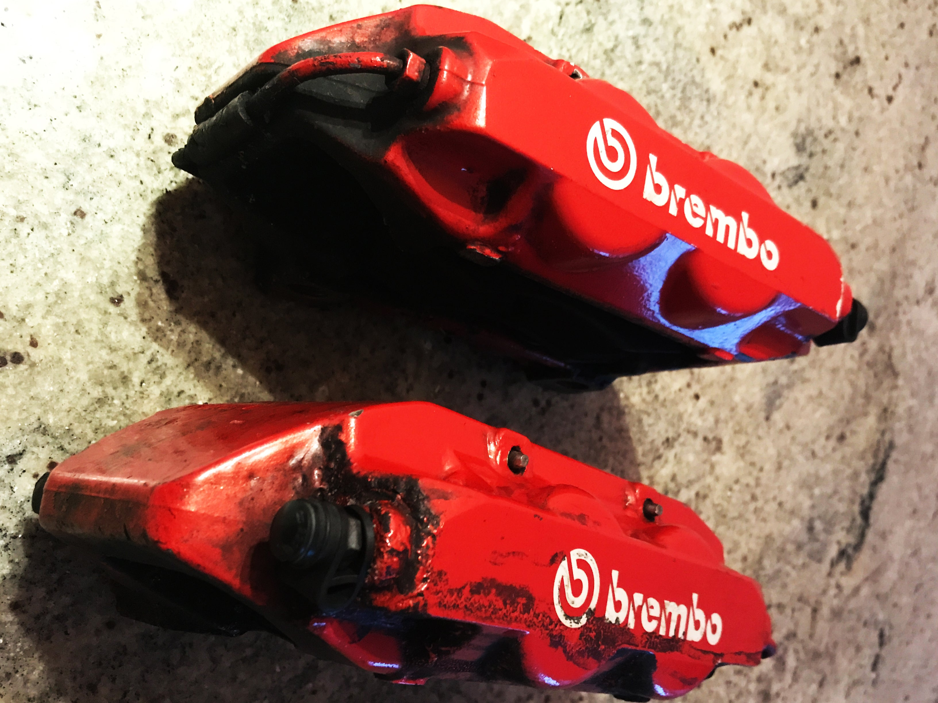 Renault Megane Sport R26 / 225 Brembo Callipers ( Red )