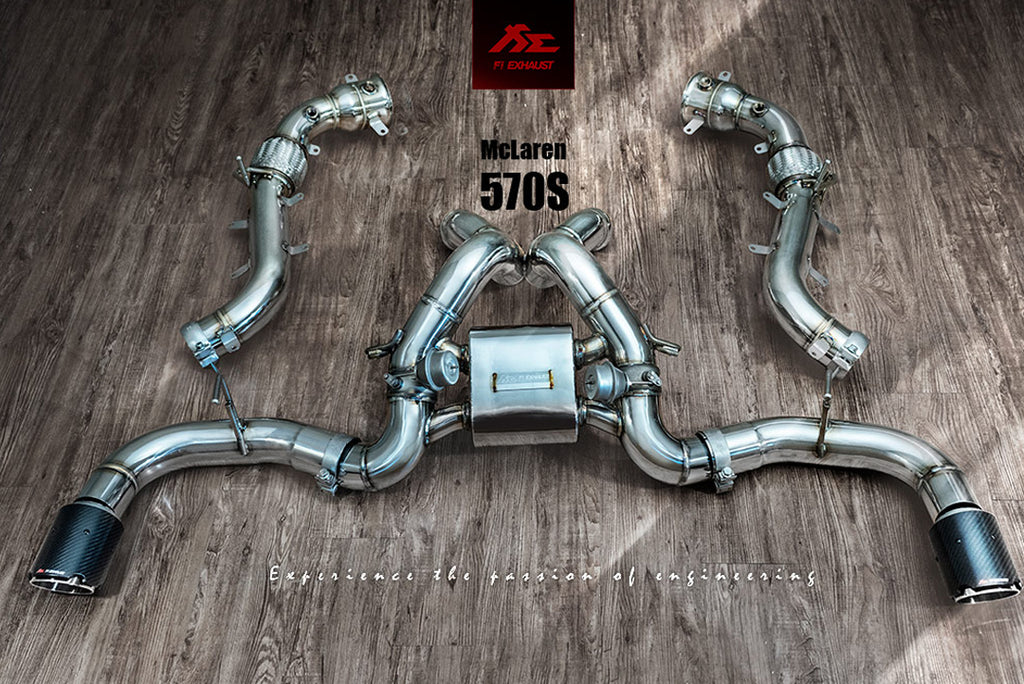 MCLAREN 570S RACE VERSION FREQUENCY INTELLIGENT EXHAUST