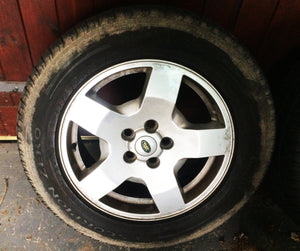 Land Rover Discovery 3 Alloy Wheels & Tyres 18''