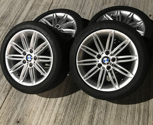 BMW 1 Series E87 / E90 Genuine 17'' M-Sport Wheels & Tyres x4