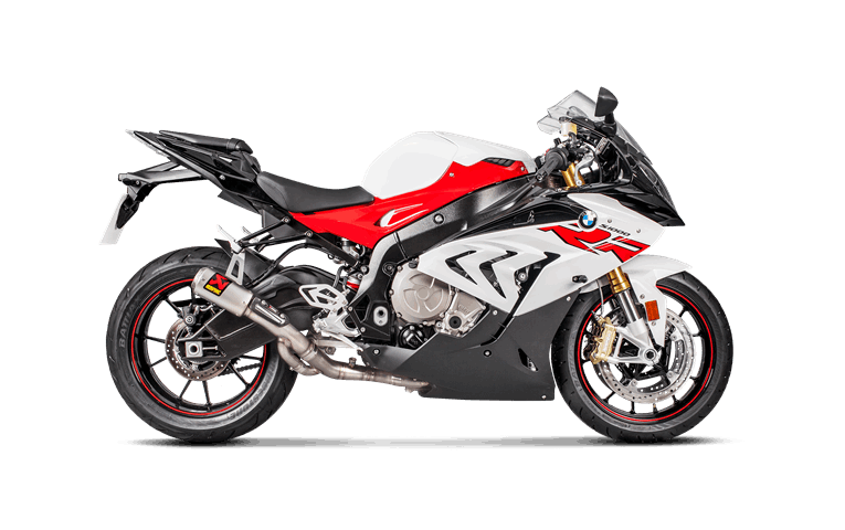 BMW S 1000 RR 2018 Slip-On Line (Titanium)