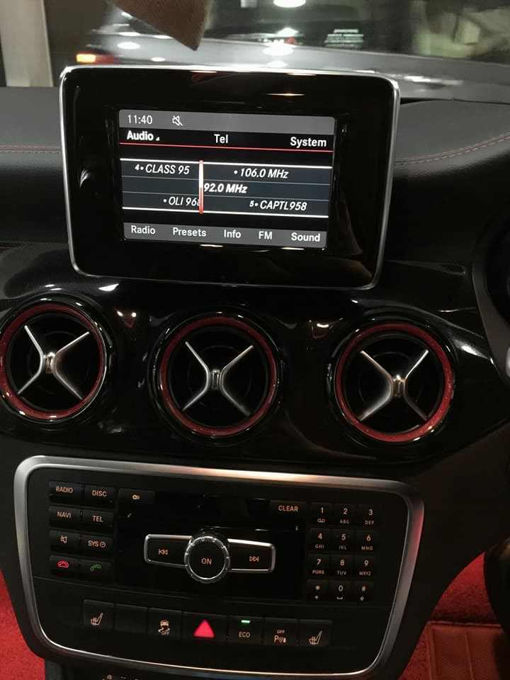 MERCEDES A45 AMG UPGRADED 10 25 INCH MEDIA SCREEN