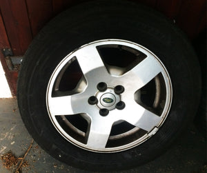 Land Rover Discovery 3 Alloy Wheel & Tyre 18'''