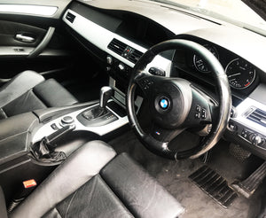 BMW 5 Series M-Sport E60 / E61 - Dashboard / Interior Silver Trims