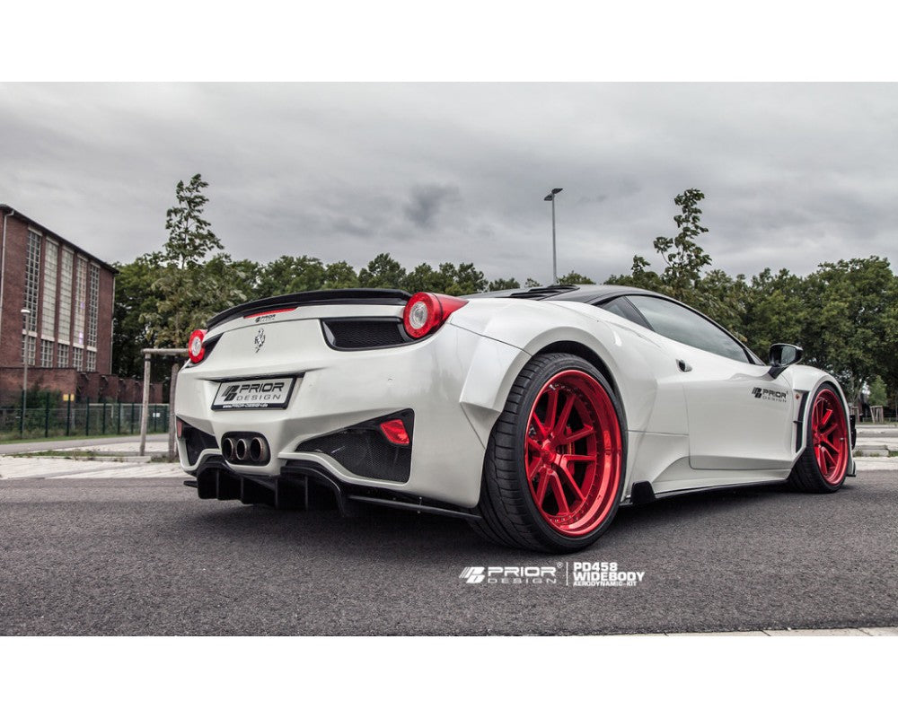 FERRARI 458 WIDE BODY AERO KIT