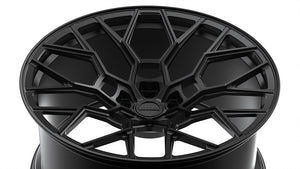 LAMBORGHINI HURACAN NERO DESIGN FORGED WHEELS NDS-1