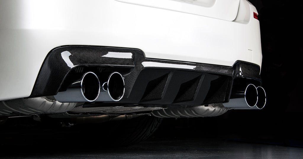 BMW M5 F10 RKP CARBON FIBER REAR CENTRE DIFFUSER