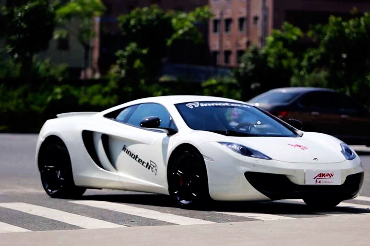 MCLAREN MP4-12c IPE EXHAUST