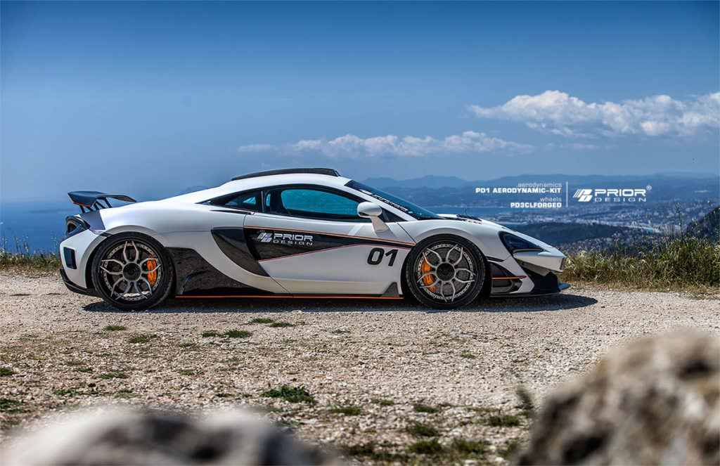 MCLAREN 570S PRIOR DESIGN PD1 - AERO KIT