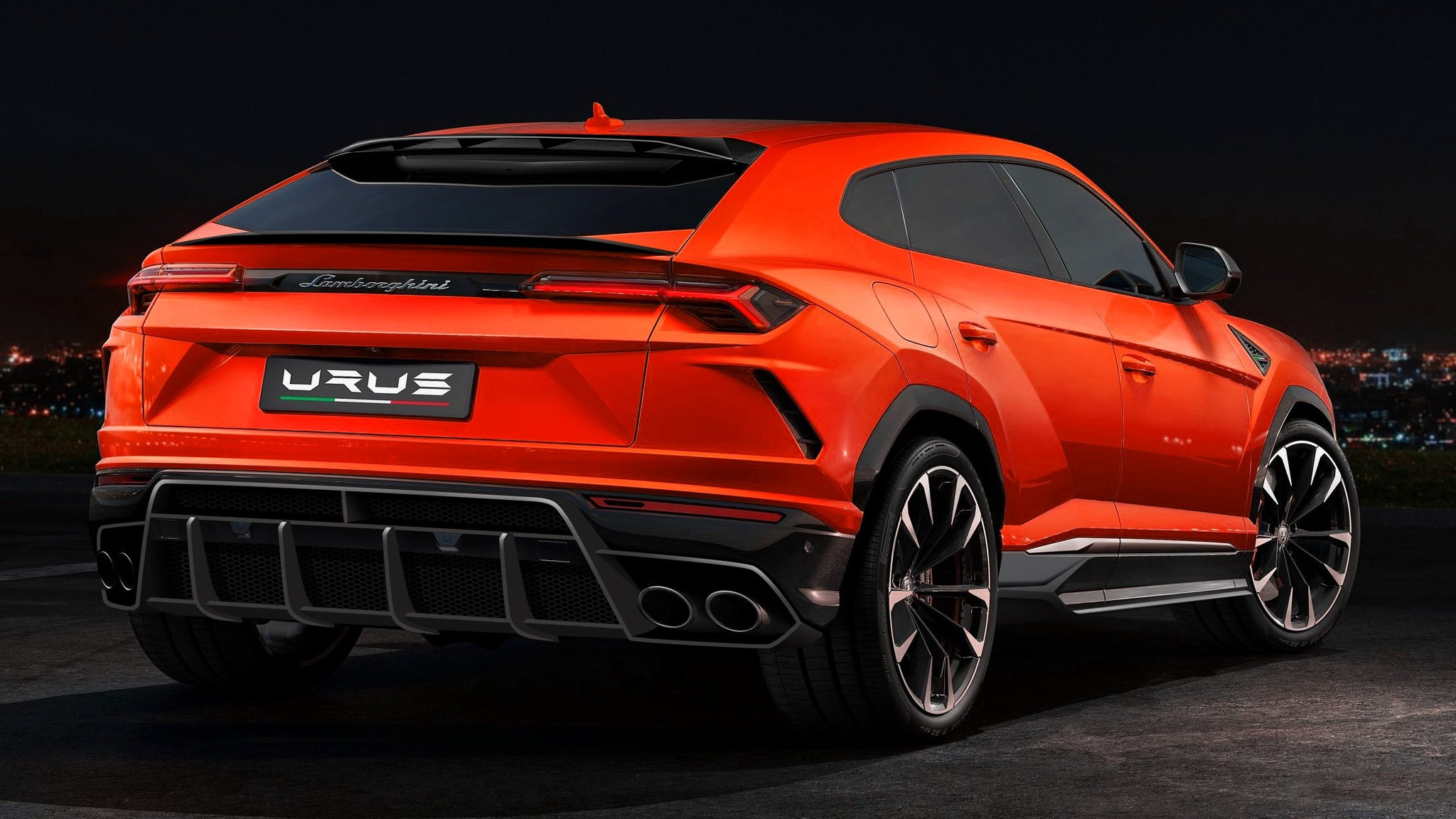 LAMBORGHINI URUS - 1016 INDUSTRIES CARBON FIBER AERO KIT
