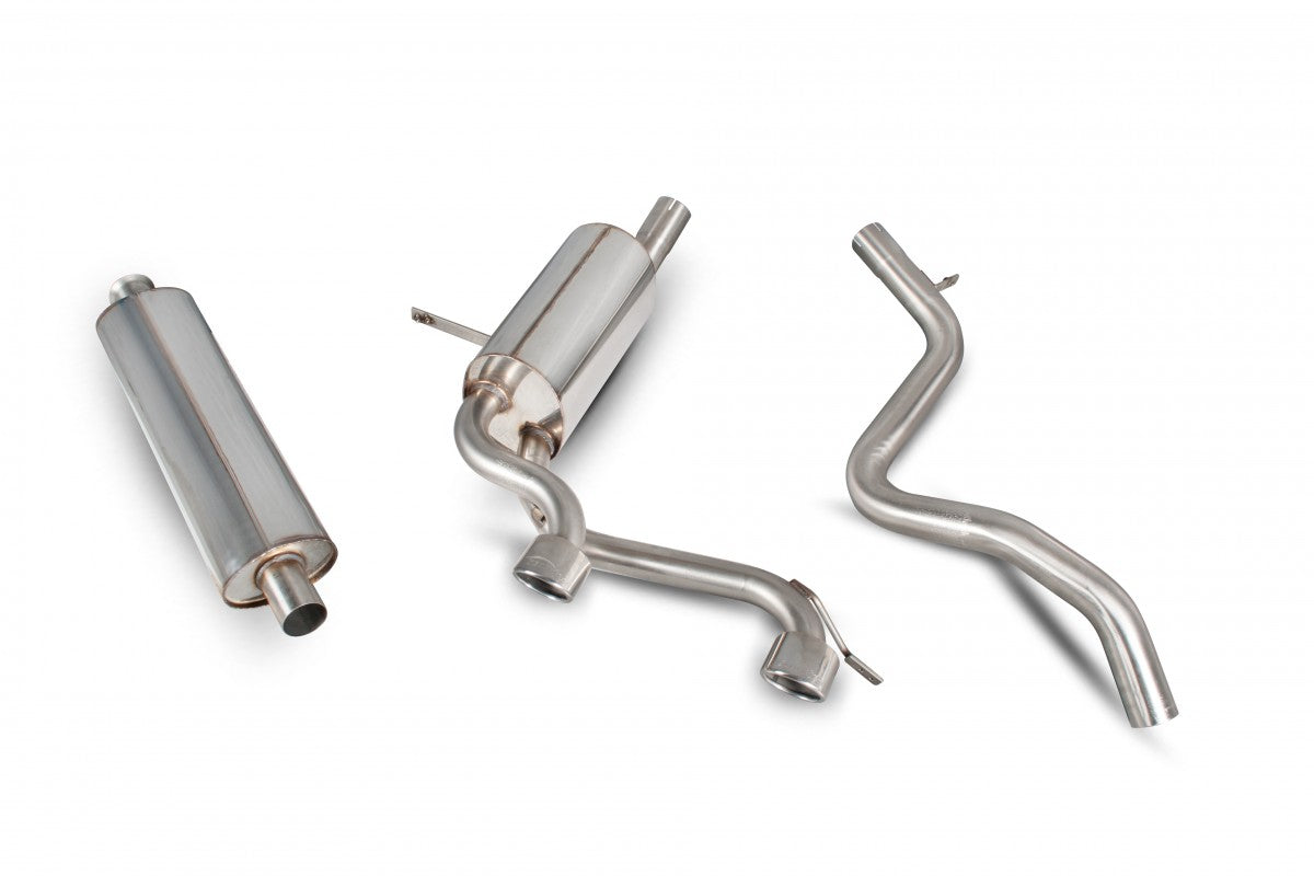 Renault Megane Sport R26 / 225 Scorpion Exhaust ( Non-Resonated )