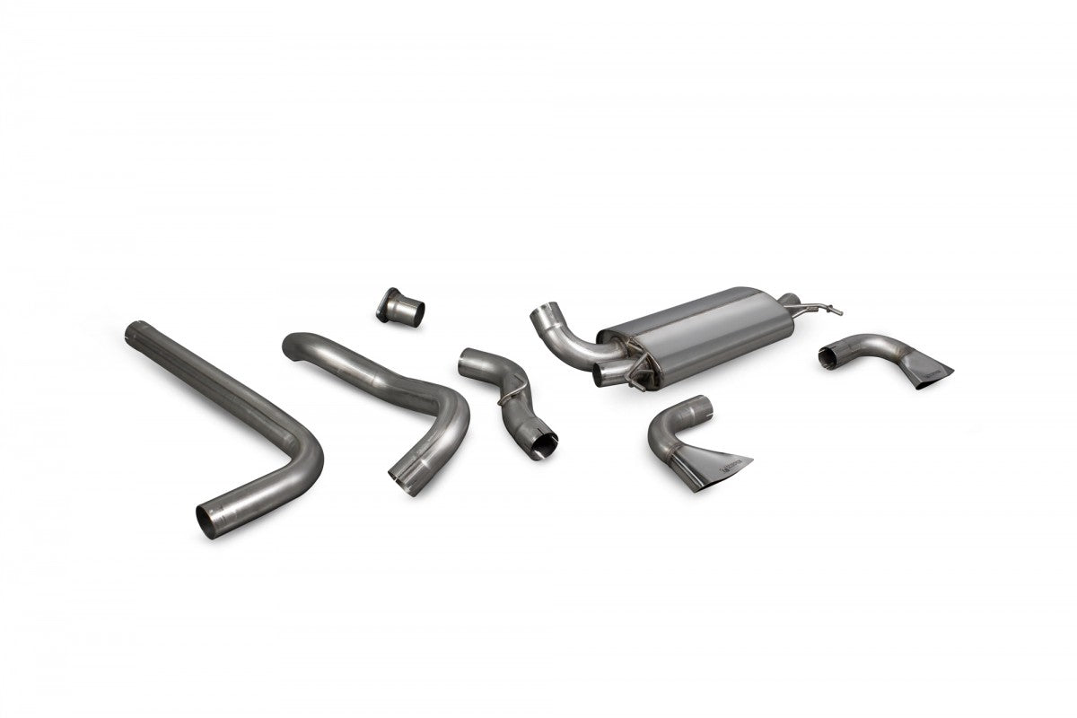 Vauxhall Astra VXR J Scorpion Exhaust System