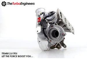 The Turbo Engineers - TTE480 Hybrid KO4 Turbocharger 2.0 TFSI