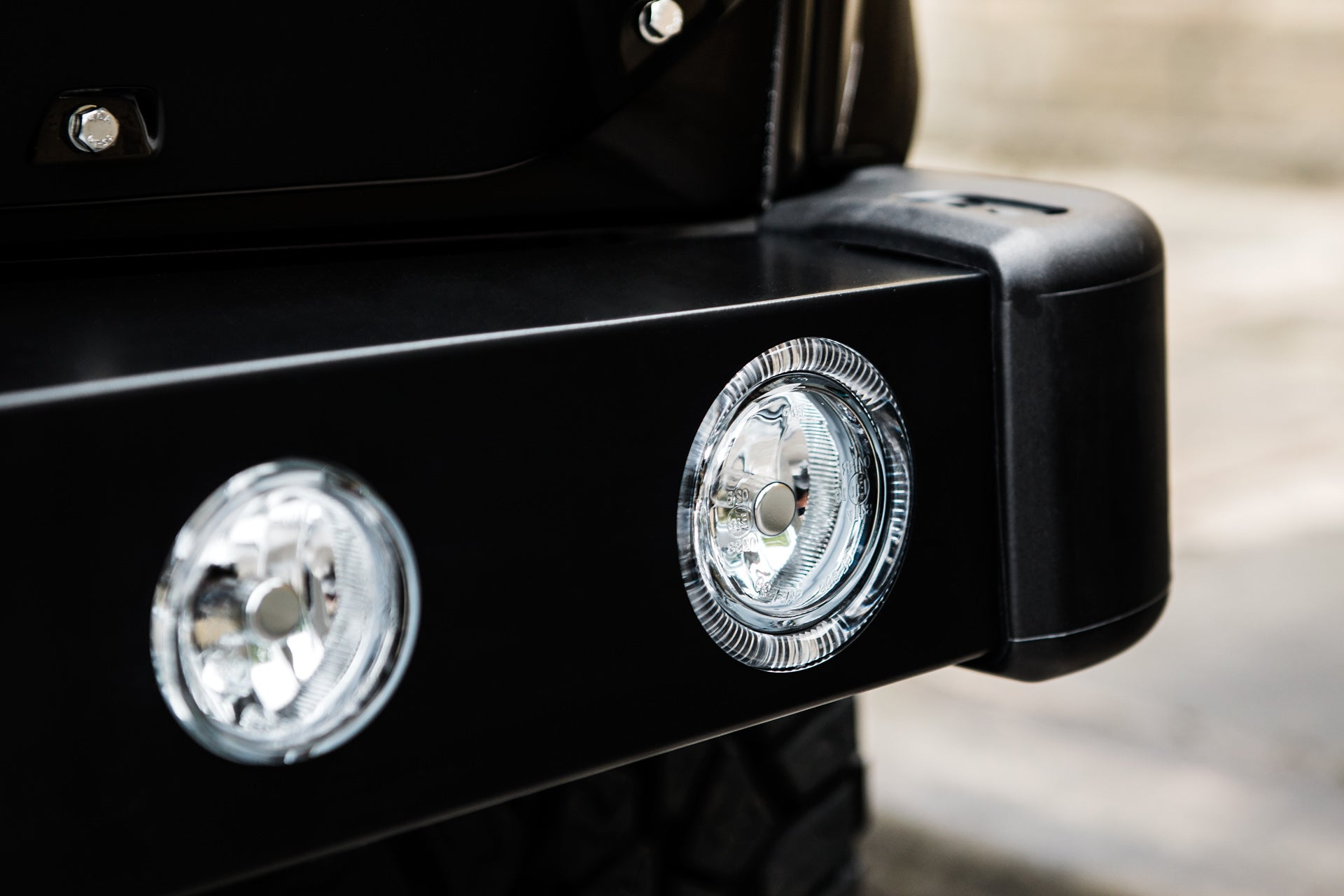 LAND ROVER DEFENDER - CTC FRONT BUMPER WITH HEADLIGHTS
