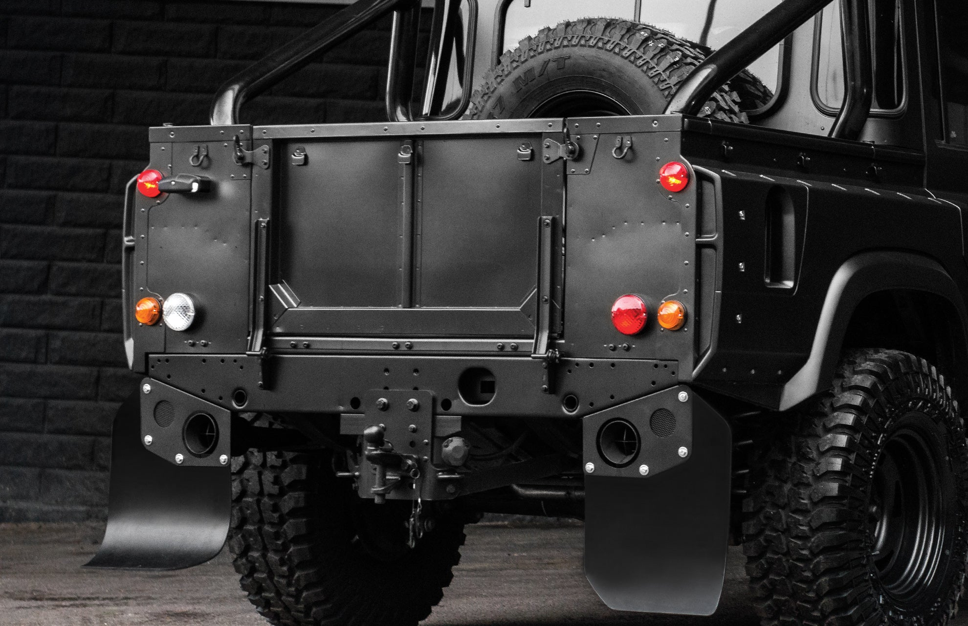 LAND ROVER DEFENDER - CTC CROSSHAIR EXHAUST SYSTEM