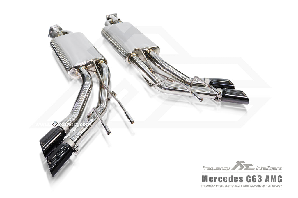 MERCEDES G63 AMG VALVETRONIC FI EXHAUST SYSTEM