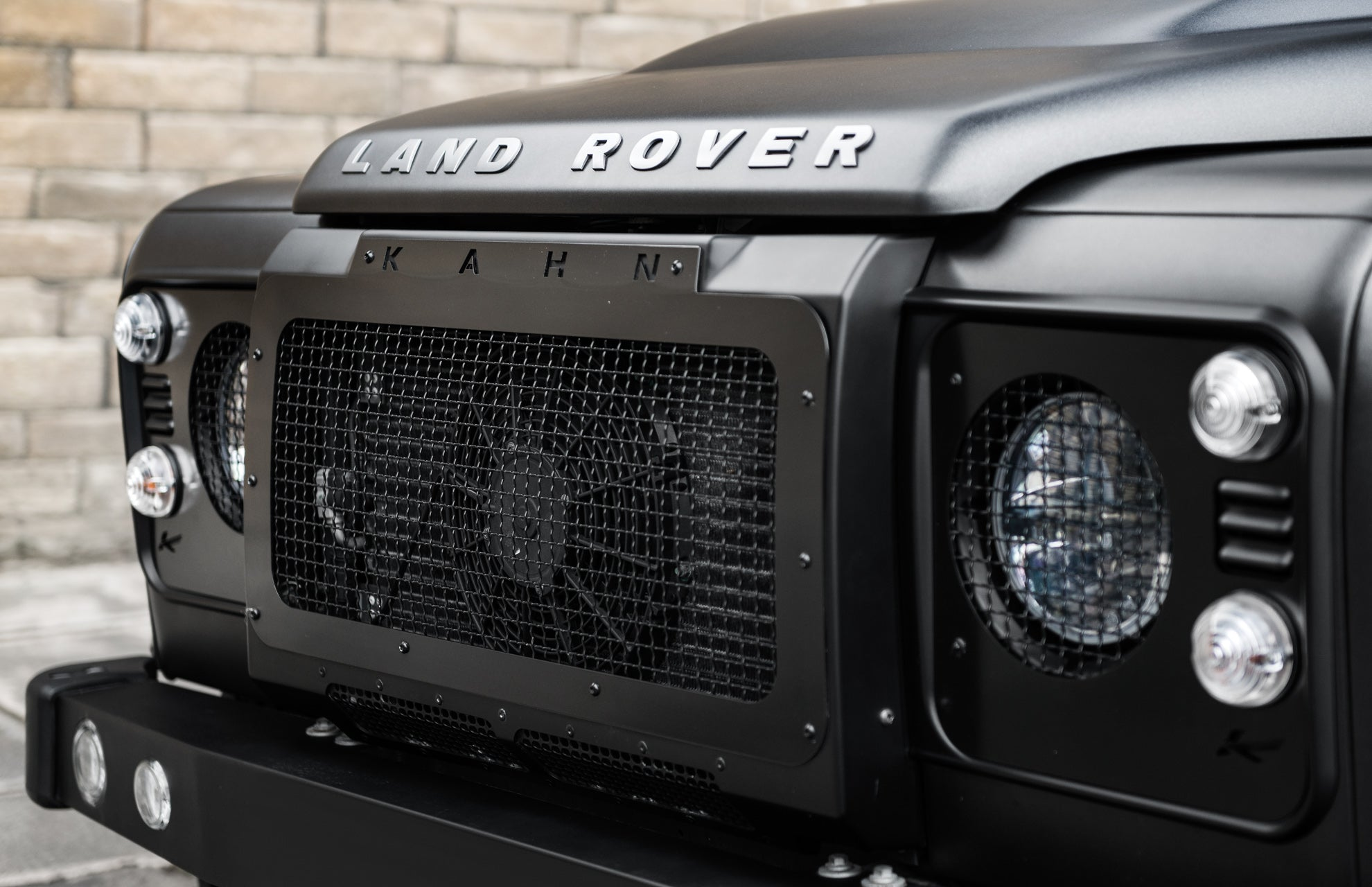 Land Rover Defender 90 Ctc Wide Track Military Edition Hsp Lights