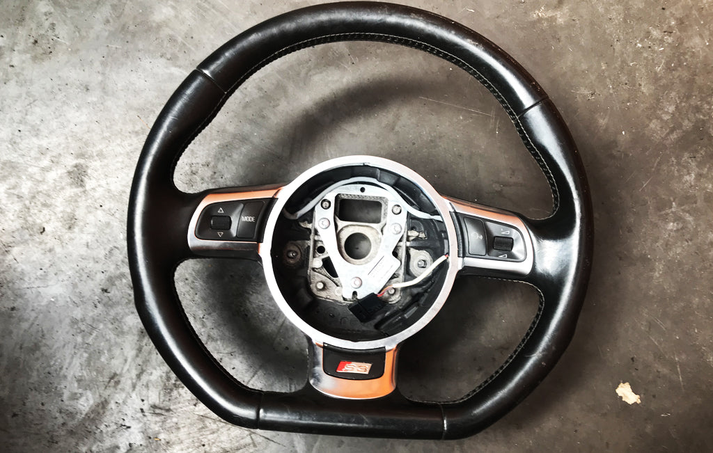 AUDI S3 8P FACELIFT -  STEERING WHEEL