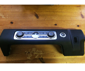 Range Rover Sport HSE Radio Switch Clock Panel