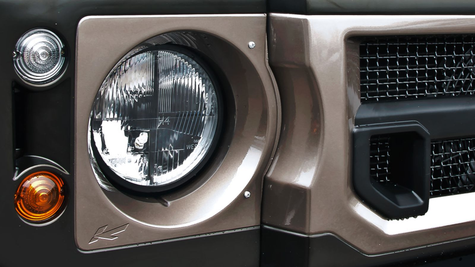 LAND ROVER DEFENDER - CTC LHD CROSSHAIR MILITARY HEADLAMPS